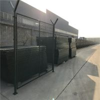 机场菱形金属护栏网 机场围栏 机场防护网