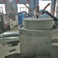 济南现林商用煎饼糊 电动豆浆石磨机电动肠粉机豆腐渣浆分离机