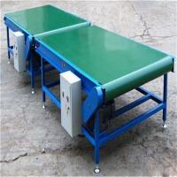 绿色光滑带运输机量身定制 分拣用传送机荆州