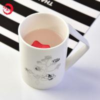 唐山唯奥骨瓷工厂纯白陶瓷杯 骨瓷马克杯 创意水杯 批发定制礼品广告杯子logo