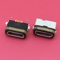 前贴后插SMT MICRO母座/防水等级IP68/MK B型直边带防水胶圈/大电流