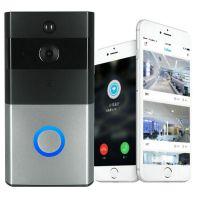 家用报警WIFI无线可视对讲门铃手机远程监频智能猫眼门铃DB601