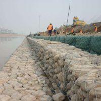 石笼网起到什么作用 固岸石笼网堤坝