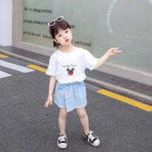 广东厂家直销春夏季童装纯棉T恤衫 打底衫低至几元一件