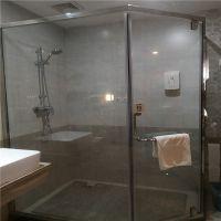 深圳钢化玻璃厂家 专业加工定制淋浴房玻璃 办公室隔断玻璃