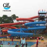 广州沁洋水上乐园设备厂家设计提供 组合滑梯 水上滑梯