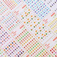 日韩迷你贴纸 儿童指甲贴纸美甲可爱DIY相册日记手账手机装饰贴纸