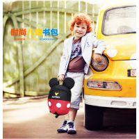 韩版幼儿园儿童米奇书包男女童小孩宝宝防走失包包可爱双肩背包潮