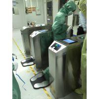 防静电闸机门禁系统 ESD静电测试闸机 远韬智能刷卡静电翼闸