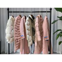 丽迪莎 19冬品牌折扣女装批发走份货源进货渠道 外套羽绒服