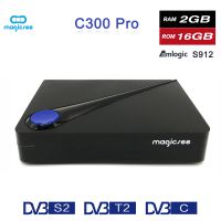 magicseeT2/C S2机顶盒安卓盒子7.1 DVB S912高清机顶盒TV BOX