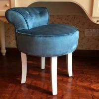 欧式梳妆凳化妆凳子靠背梳妆台凳子化妆椅化妆凳电脑凳美甲凳圆凳