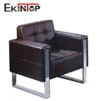 厂家直销现代皮制办公沙发 前台接待会客 1 1 3沙发组合