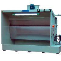 环保无泵水帘柜 无泵水幕喷漆台 不锈钢水帘漆雾处理水循环处理柜