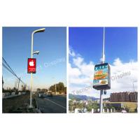 智慧城市建设先行者-LED灯杆屏,户外LED广告机厂家——太龙智显