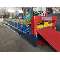 水波纹压瓦机 地鑫定制836水波纹单板机 彩钢瓦成型设备