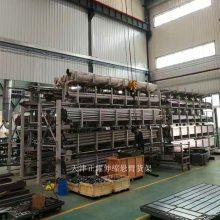广东钢材货架结构 伸缩悬臂式货架先进之处 车间钢材存放