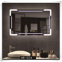 智能浴室镜触摸开关卫生间镜子洗漱挂镜卫浴镜高清防雾镜厂家定制