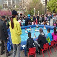 大型室内外商场游乐场创业项目水上游乐设备方向盘遥控船儿童玩具