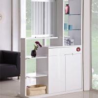 欧梦衣柜 客厅时尚现代中式玄关柜隔断柜 免费上门量尺设计包安装