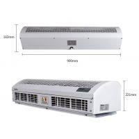 水平进风贯流式电辅热风幕机RM125-18-3D/Y-B-2-X