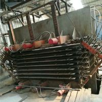 8成新 山东菏泽鲁工牌 9压8层400吨 二手四面侧压热压机
