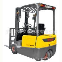 深圳西林CPD20SA三支点电动叉车,蓄电池平衡重式叉车,全自动堆垛车