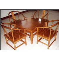 西安老榆木餐桌批发 实木桌椅批发市场 木质火锅桌定制厂家