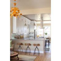 青岛实木橱柜整体厨房定做厨房装修