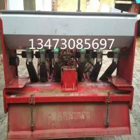 水田打浆机施肥机 2米豪丰旋耕机安装施肥播肥机 双箱施肥播种机