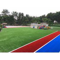 幼儿园彩虹跑道 pe材质人造草 人造草卷材