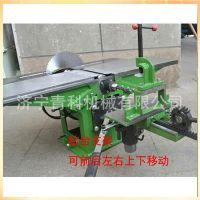 木工机械斜口平刨 重型平刨 多功能台式电刨压刨电锯  三合一自动