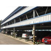 青岛机械停车场供应 三层升降横移式立体车库 智能机械车库
