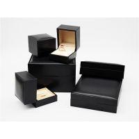 高档包装戒指项链珠宝金色饰品首饰包装盒厂家定制批发