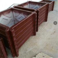 北京水泥仿木花箱仿木围树凳价钱厂家