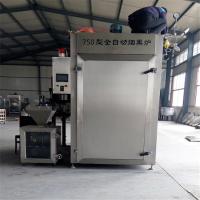 2018新款红肠设备厂家 电加热熏肉糖熏炉 天然气烟熏炉厂家