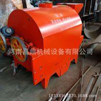 厂家直销花生瓜子菜籽干货减速机带动多功能滚筒炒货机炒锅炒籽机