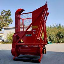 圣泰水稻秸秆回收机视频 牵引式玉米秸秆回收机 提供技术支持
