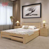 富滋雅卧室双人大床平板气动高箱收纳储物床可定制
