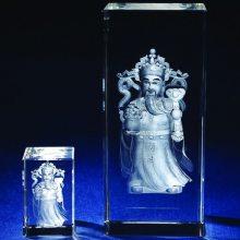 风水神像水晶内雕摆件定制,办公场所招财水晶摆饰定做,水晶内雕厂家直销