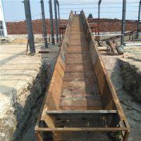 玻璃制品链板输送机厂家直销定制 输送石板链板输送机结构出售厂家