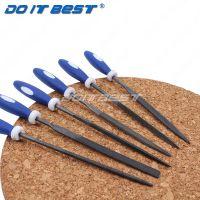 六件套什锦锉 钢锉整形锉 钳工木工金属打磨工具套装