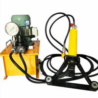 恒路工程生产手提式钢筋弯曲机 分体式液压钢筋弯曲机