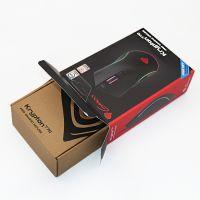 电子产品鼠标瓦楞盒定制,东莞厂家印刷彩盒封套,鼠标牛皮纸盒黑色印刷