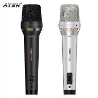 ATSH/爱特声 AT-800有线麦克风动圈电容唱歌会议 舞台卡拉ok专业k歌家用金属话筒