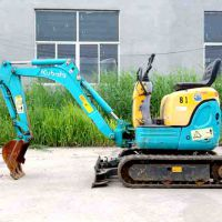二手小挖机市场 国产二手小挖掘机 迷你挖机