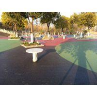 彩色,透水混凝土路面,创捷透水地坪
