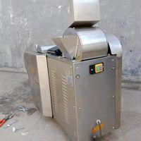 不锈钢变频豆角切丁机 厂家直营 饭馆专用切菜机设备