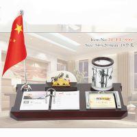 热销多规格多样式红木台历架定制办公桌摆件 广告礼品实木台历