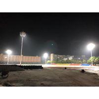 中山室外篮球场灯光标准 体育场25米高杆灯 户外足球场照明高杆灯厂家柏克